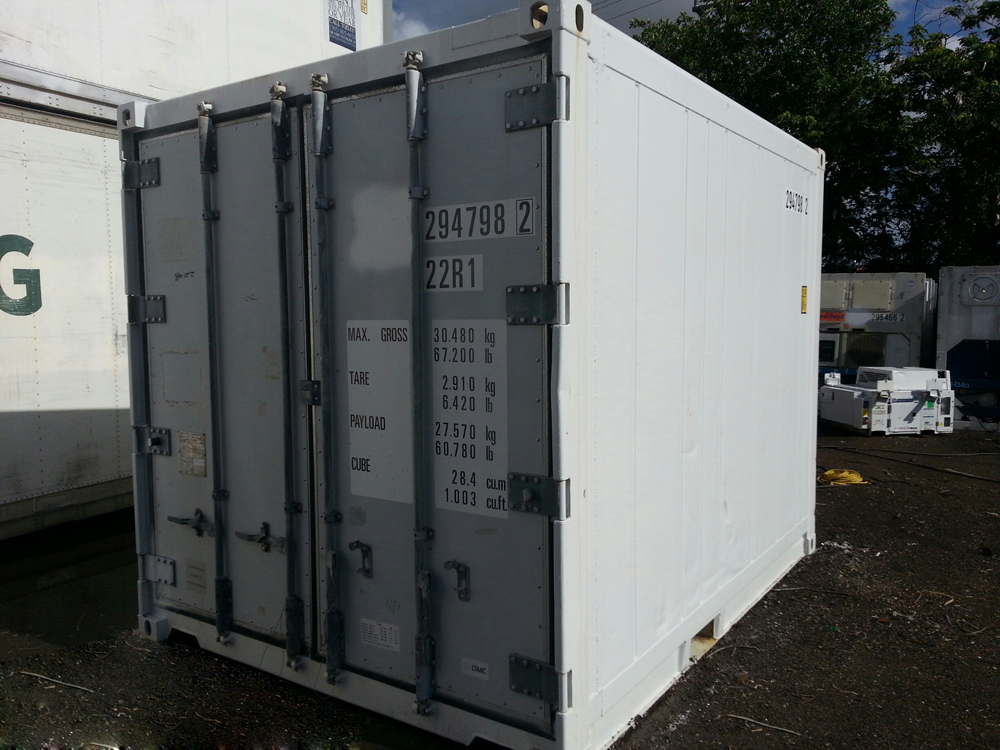 10′ Refrigerated Container