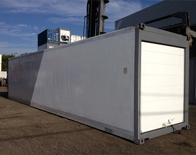 40′ Refrigerated Container (Roll Up Door)