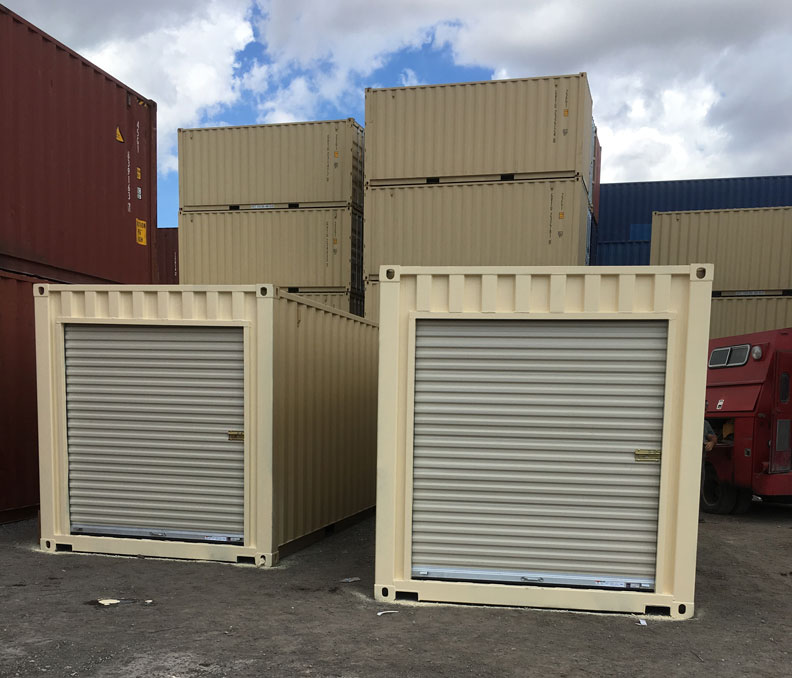 45′ Dry Container with Rollup Door