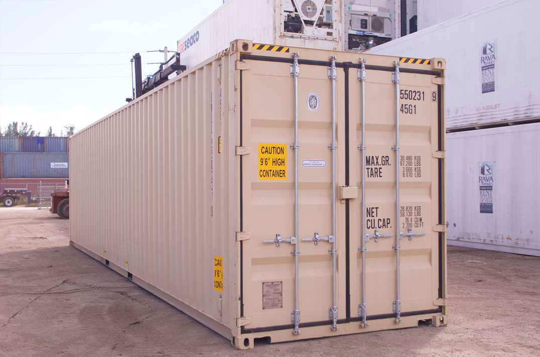 40′ Dry Container HC