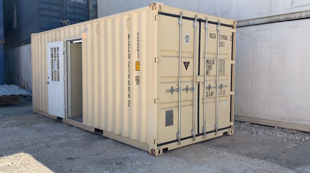 Dry Office Container